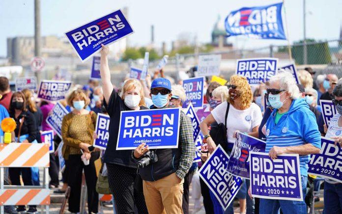 McEnany Says Biden Campaign Celebrations Are