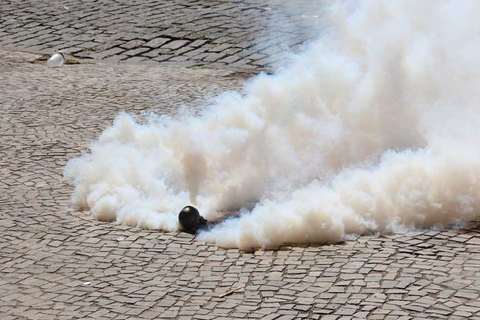 France Deploys Tear Gas Against People Protesting Lockdowns